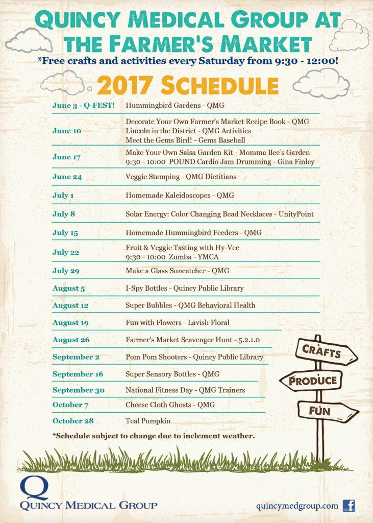 2017 Schedule Magnet